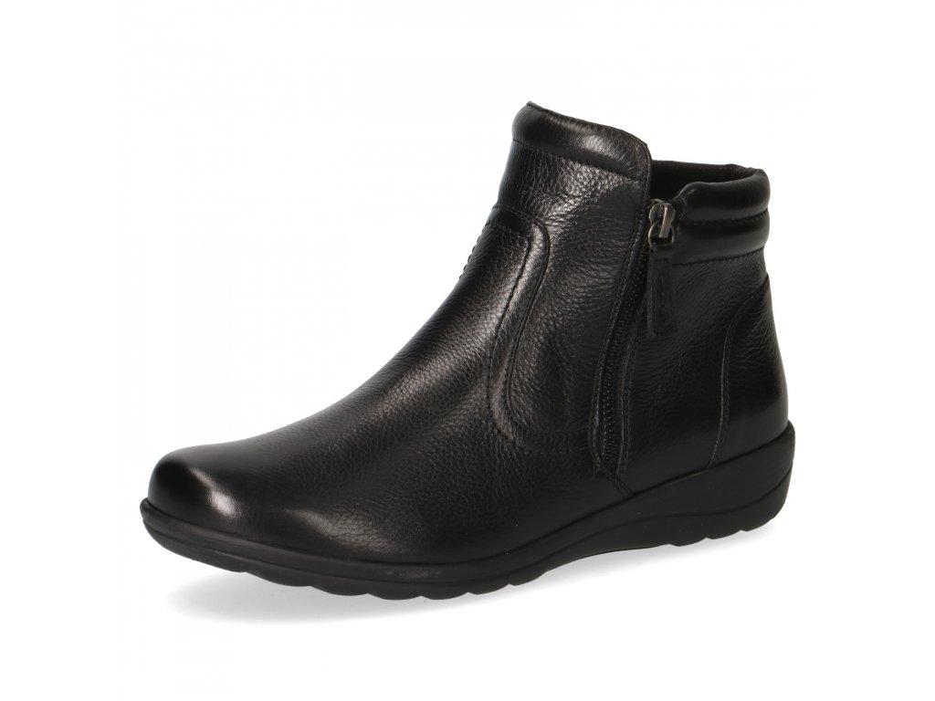Dámské zimní boty Caprice DZ 9-25458/25 šíře H (Barva černá, Velikost 42)