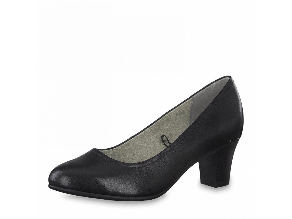 Dámská celoroční obuv Jana DC 8-22450/26 černá šíře H