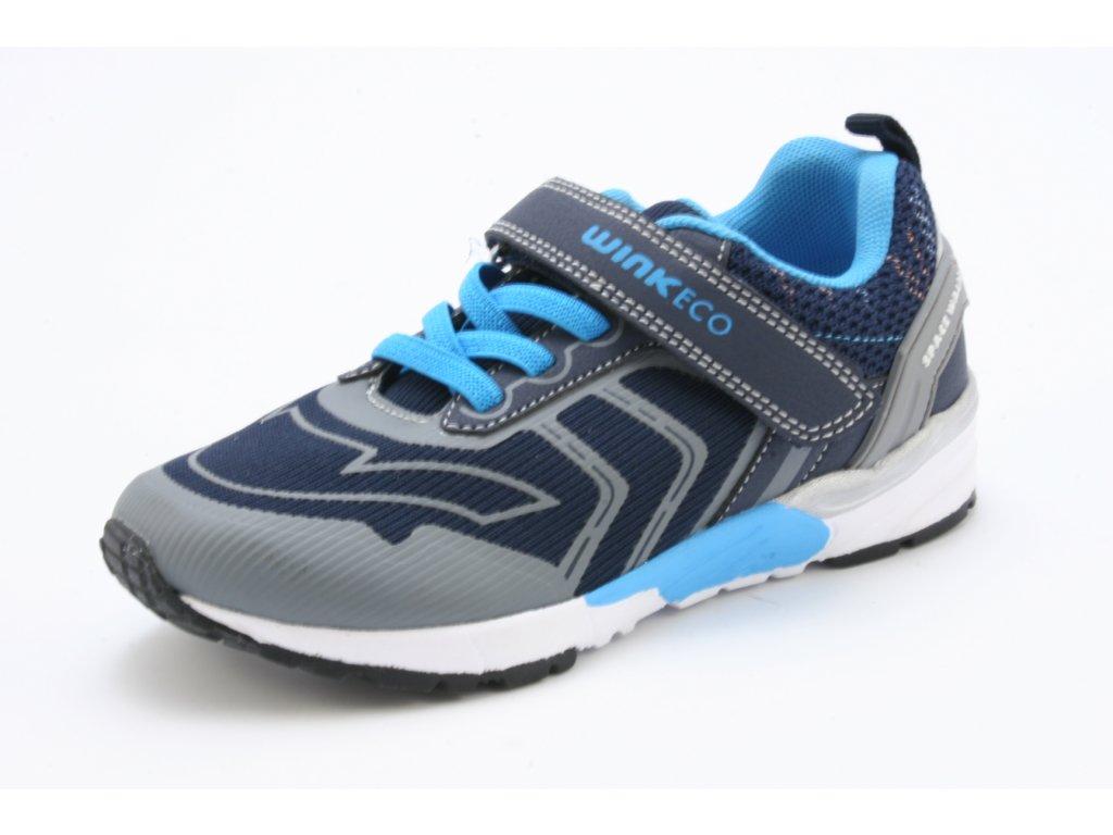 Dětské boty Obutex SA FK01989-1-2 modré  vel. 32-36