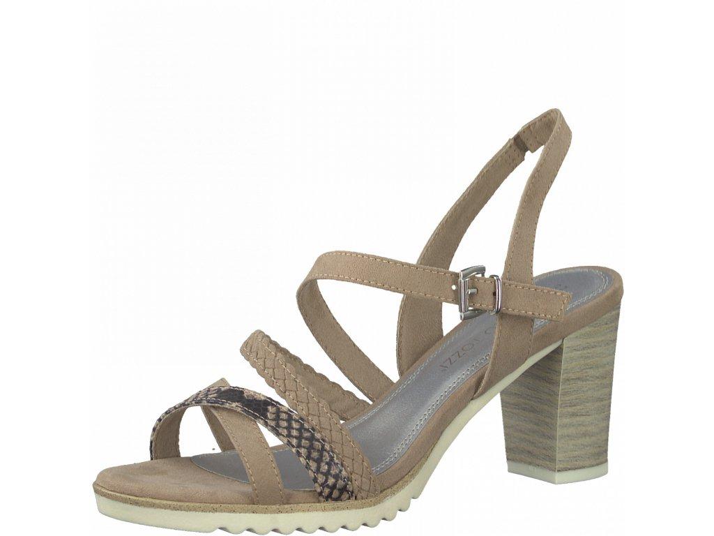 Dámská obuv letní DL 2-28712/26 béžová