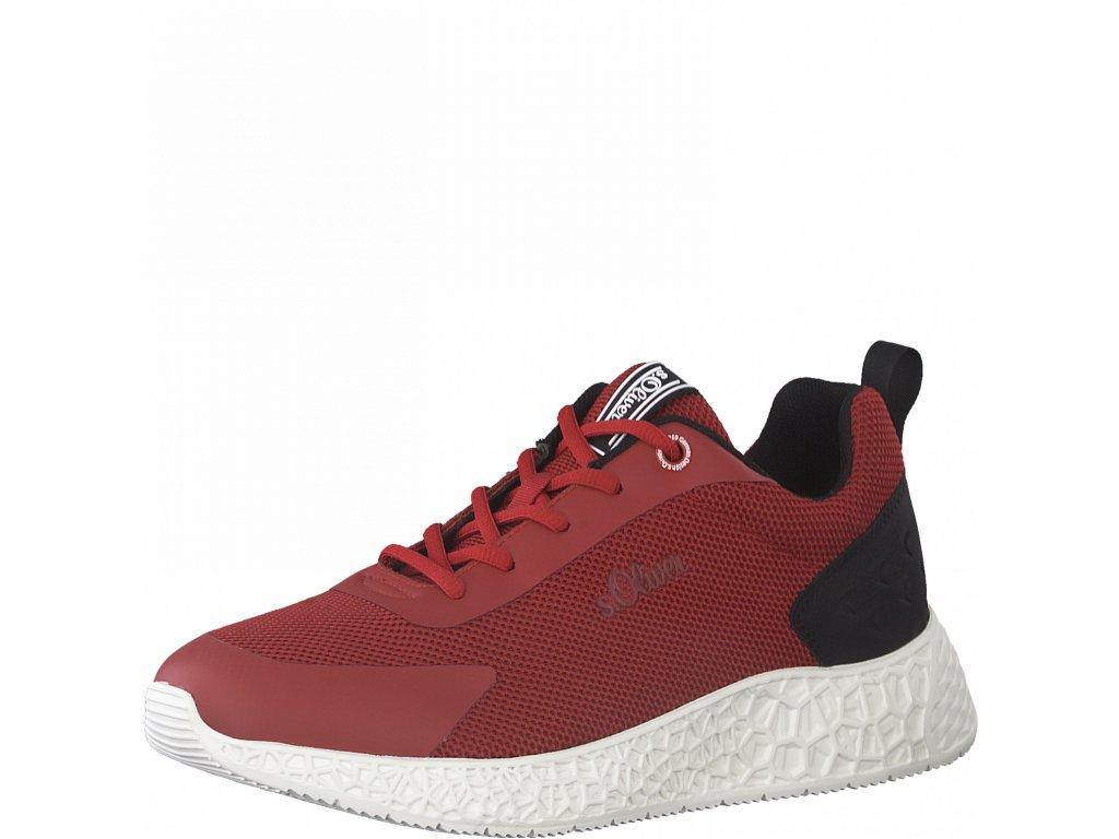 Pánská sportovní obuv - S Oliver SP 5-13622/26 červená