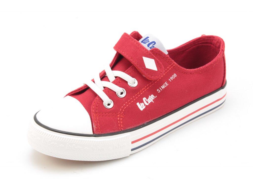 Dětská obuv  Lee Cooper SA LCW21440304K červené