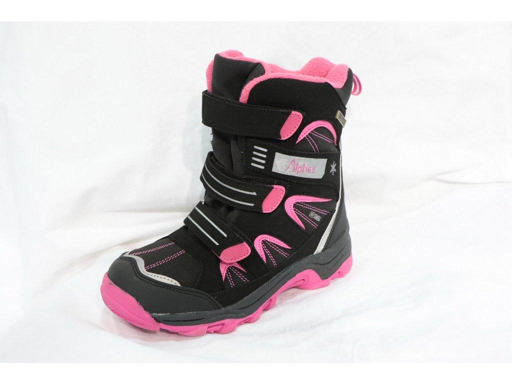 Dětská obuv Alpinex A217027 A (Barva růžová, Velikost 32)
