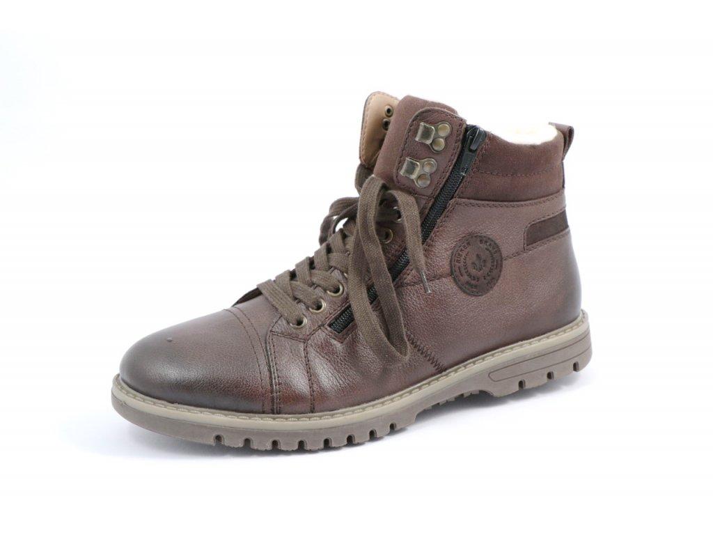 Pánská obuv Rieker F3123-24 (Barva hnědá, Velikost 44)