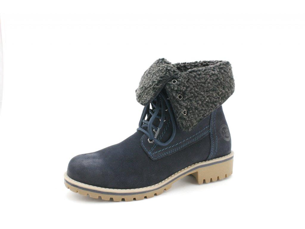 Dámská obuv zimní Marco Tozzi 2-26223/29 (Barva Modrá, Velikost 41)