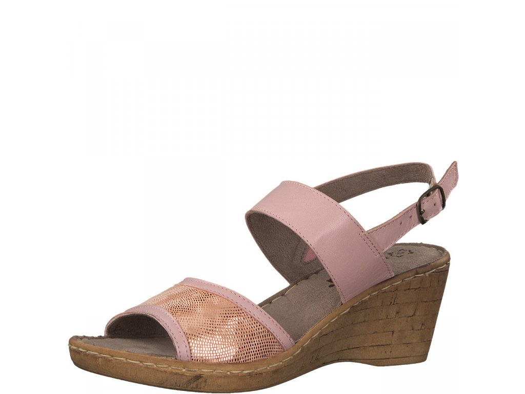 Dámské sandály Jana 8-28304/20 AKCE (Barva růžová, Velikost 41)