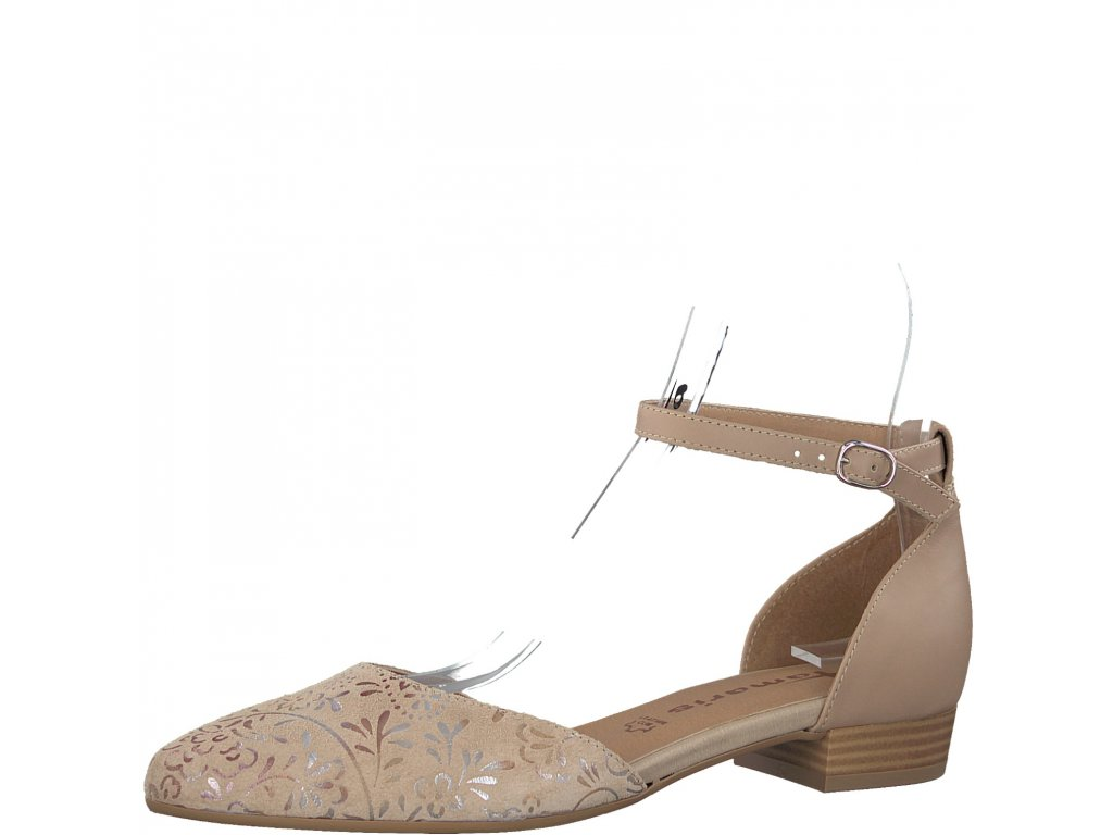Dámské sandály Tamaris 1-24227/20 (Barva béžová, Velikost 41)