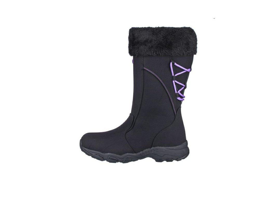 Dámské boty EFFE TRE SW 15062-600 AKCE (Barva černá, Velikost 40)