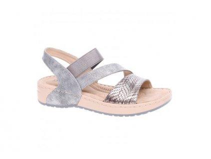 Dámské sandály Rieker V5773-90 (Barva šedá, Velikost 40)