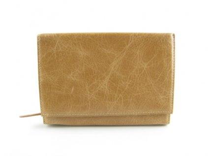 Dámská kožená peněženka Pen F8 GS 72355 (Barva hnědá)