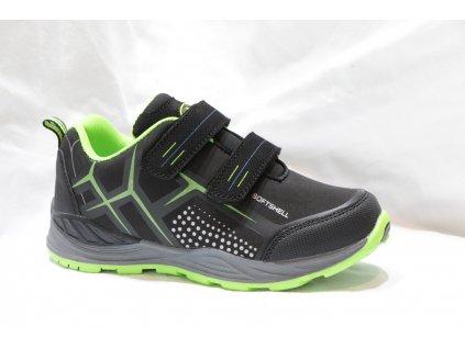 Dětské boty Alpinex A218001 (Barva Zelená, Velikost 33)