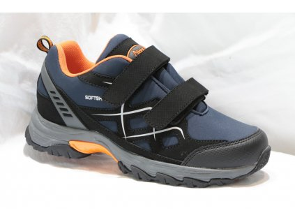 Pánská sportovní obuv A418002 (Barva Modrá, Velikost 46)
