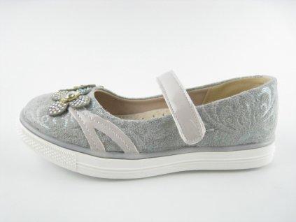 Dětská obuv AC P218003A (Barva šedá, Velikost 36)