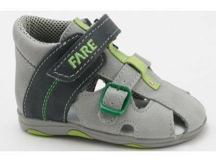 Dětské sandálky Fare AL 560161 (Barva Modrá, Velikost 25)