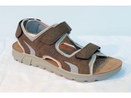 Pánské sandály INBLU TL013 (Barva hnědá, Velikost 46)