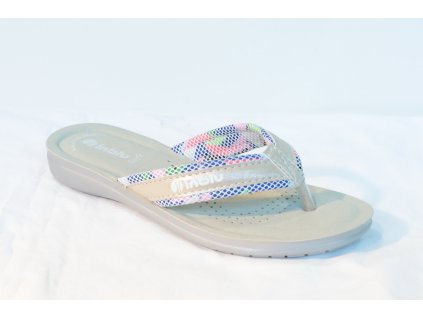 Dámské žabky INBLU SL031 (Barva Bílá, Velikost 36)