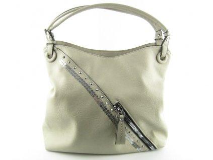 Dámská kabelka F8 80-24 (Barva béžová)