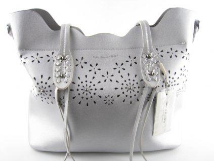 Dámská kabelka CM3784 (Barva stříbrná)