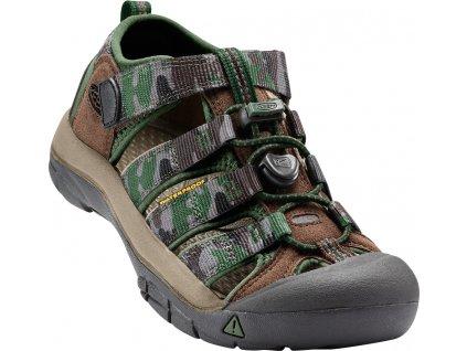 Dětské a dámské boty Keen NEWPORT CASVADE (Barva Zelená, Velikost 36)