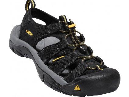 Pánské boty Keen NEWPORT BLACK (Barva černá, Velikost 46)