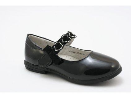 Dětské boty EFFE TRE K02B-240 (Barva černá, Velikost 35)