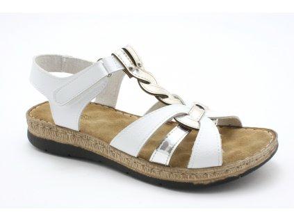 Dámské sandály EFFE TRE E35 (Barva Bílá, Velikost 39)