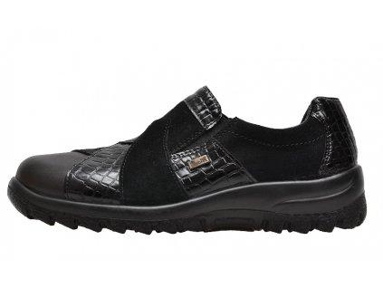 Dámské boty Rieker L7164-00 (Barva černá, Velikost 42)