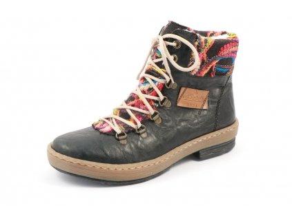 Dámská obuv Rieker Z6743-00 (Barva černá, Velikost 40)