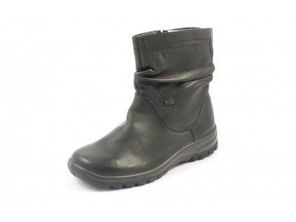 Dámské boty Rieker Z7153-00 (Barva černá, Velikost 38)