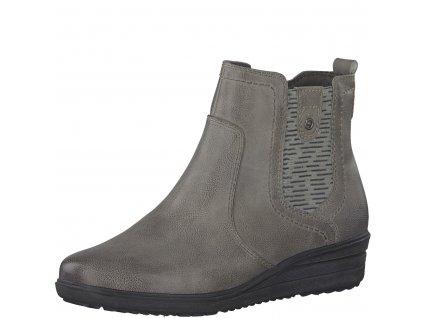 Dámské boty Jana 8-25404/21 AKCE (Barva šedá, Velikost 41)