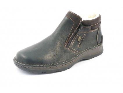 Pánské boty zimní Rieker 05388-00 (Barva černá, Velikost 45)