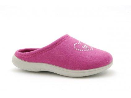 Dětské papuče INBLU B921 (Barva Fialová, Velikost 34)