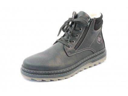 Pánské boty Rieker F4221-00 (Barva černá, Velikost 46)