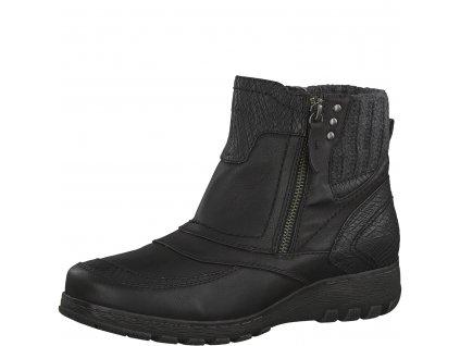 Dámské boty Jana 8-26448/21 (Barva černá, Velikost 40)