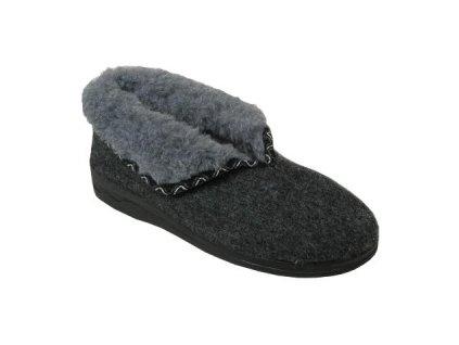 Dámská domácí obuv Adanex 4944 (Barva šedá, Velikost 41)