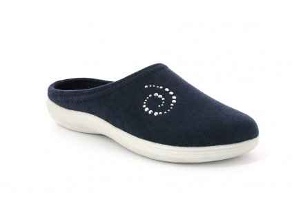 Dámské pantofle Inblu BS 38 modré (Barva Modrá, Velikost 40)