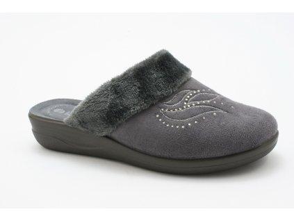 Dámské pantofle Inblu CF 19 (Barva šedá, Velikost 39)