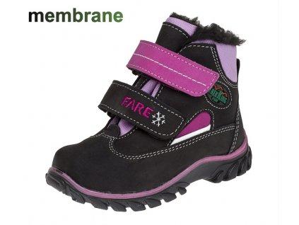 Dětské zimní boty Fare 840292 (Barva růžová, Velikost 28)