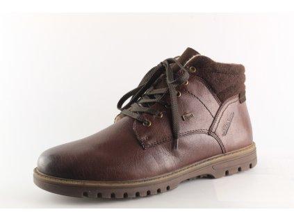 Pánské zimní boty Rieker F3112-25 (Barva hnědá, Velikost 45)