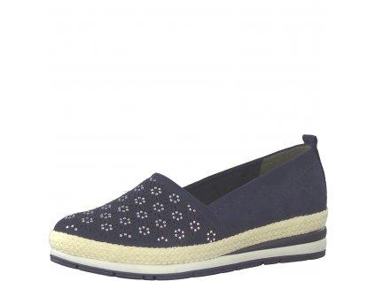 Dámské boty Marco Tozzi 2-24202/22 (Barva Modrá, Velikost 40)