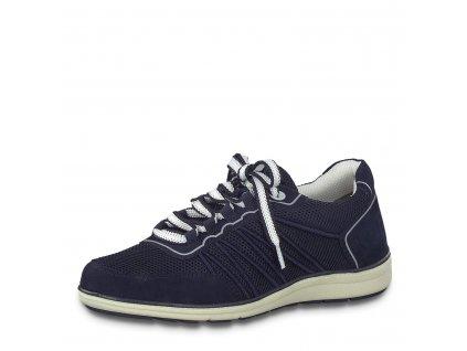 Dámské boty Jana 8-23660/22 (Barva Modrá, Velikost 40)