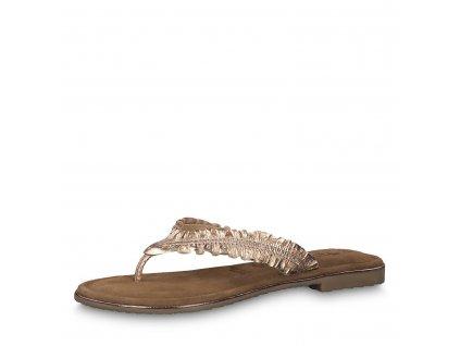 Dámské sandálky Tamaris 1-27110/22 (Barva zlatá, Velikost 42)