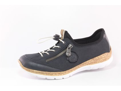 Dámská obuv Rieker N4263-14 (Barva Modrá, Velikost 42)