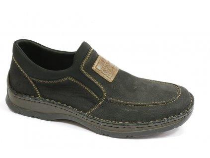 Pánská obuv Rieker 05352-03 (Barva černá, Velikost 46)