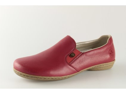 Dámská obuv Rieker 53960-33 (Barva červená, Velikost 42)