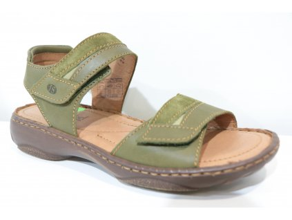 Dámské sandály Josef Seibel 76719 (Barva Zelená, Velikost 42)