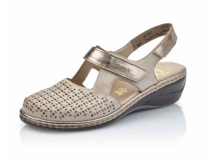 Dámská obuv 47775-42 (Barva béžová, Velikost 40)