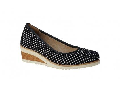 Dámská obuv Rieker D5500-15 (Barva Modrá, Velikost 41)