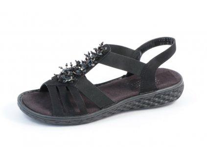 Dámská obuv Rieker V22G1-00 (Barva černá, Velikost 41)