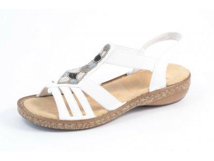 Dámská obuv Rieker 628G5-80 (Barva Bílá, Velikost 42)